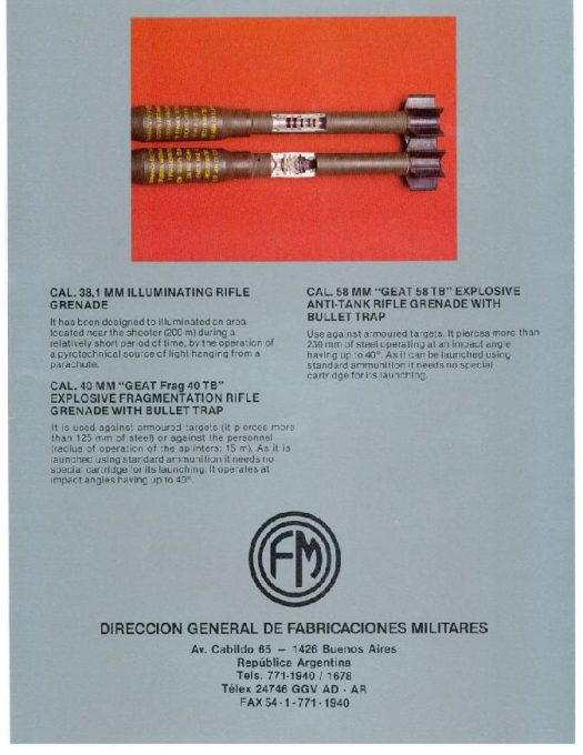 DGFM Brochure FAL Grenade