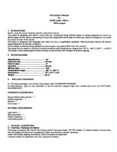 POSP 4x24 / PSO-1 Instruction Manual