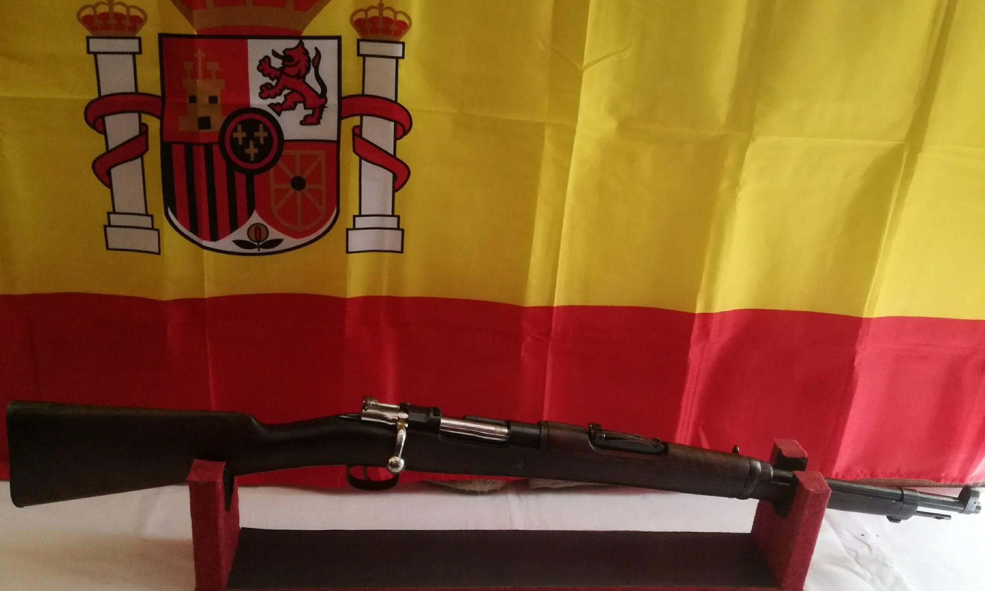 Il Mauser 1916 visto dal suo profilo destro.