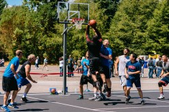 Basketball at Fluke Day