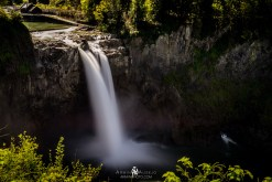 Long exposure of Snoqualmie Falls
