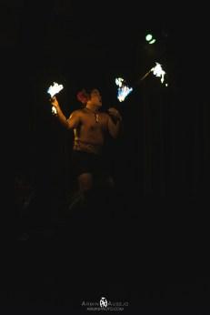 Fire Dancing at Germaine's Luau