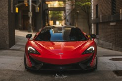 Will's McLaren 570S in Downtown Seattle