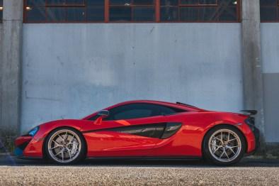 Will's McLaren 570S in Ballard