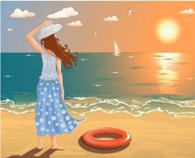 agosto, estate, vacanza