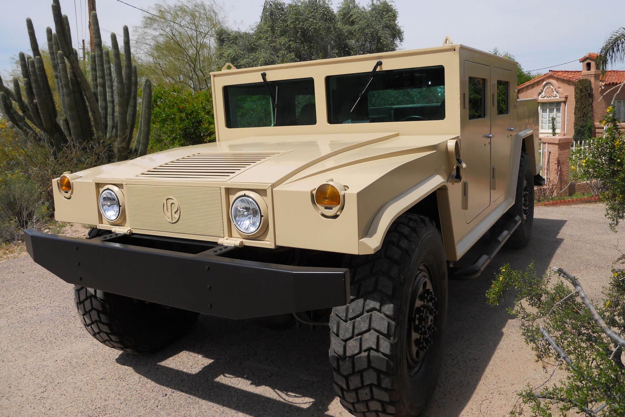 Armored Humvee