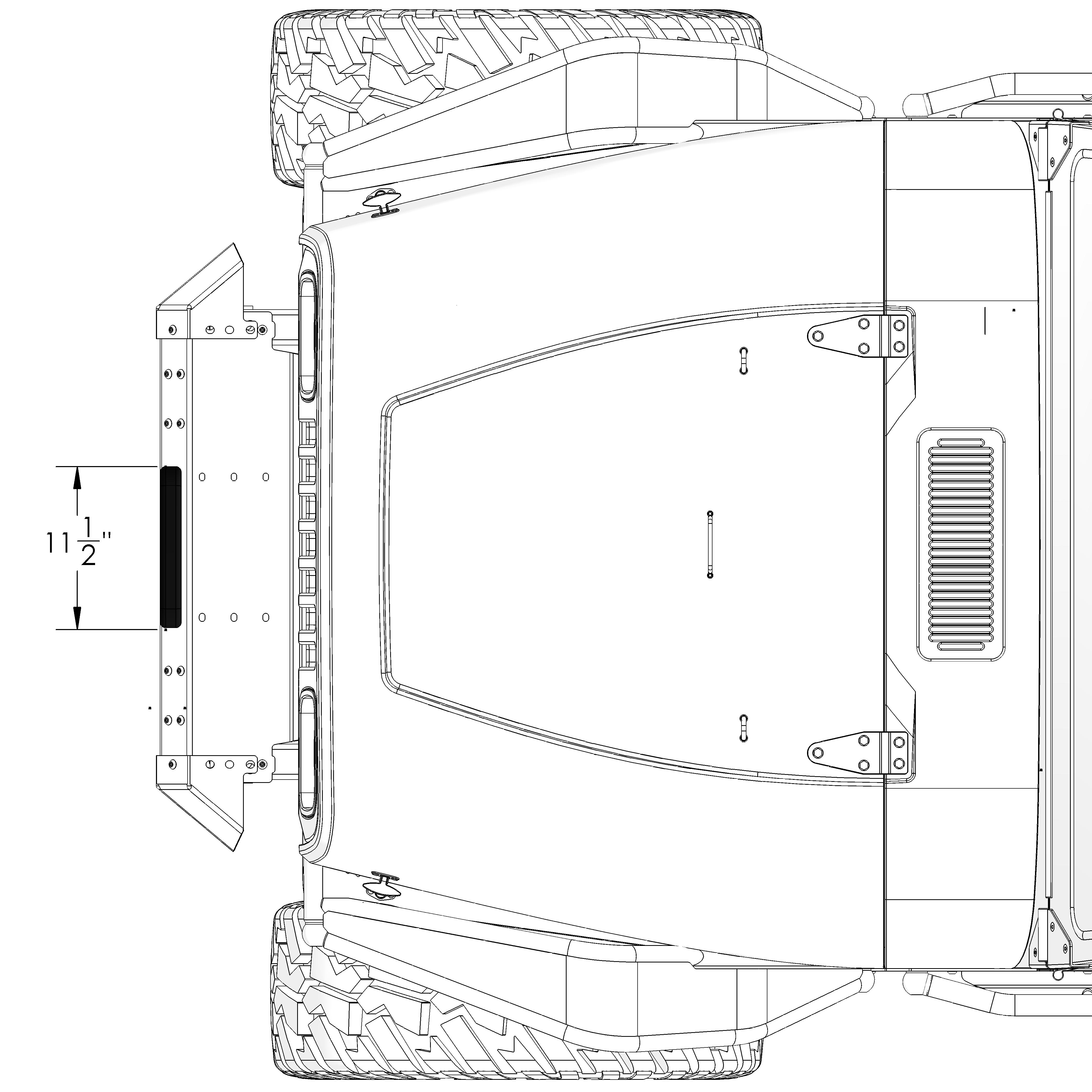 Frame Built Jeep Bumper Yj