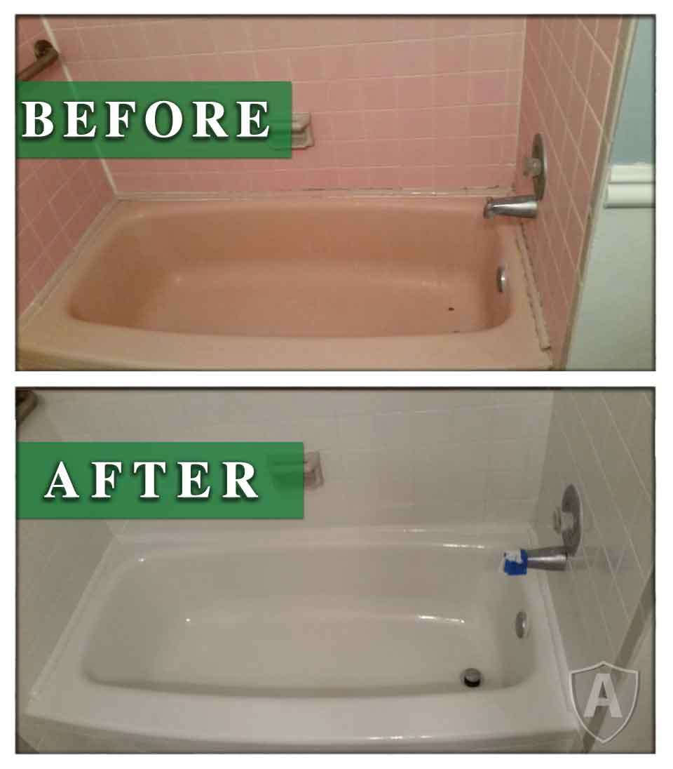 Bathtub Reglazing Bensalem PA Bucks County By ArmorKote