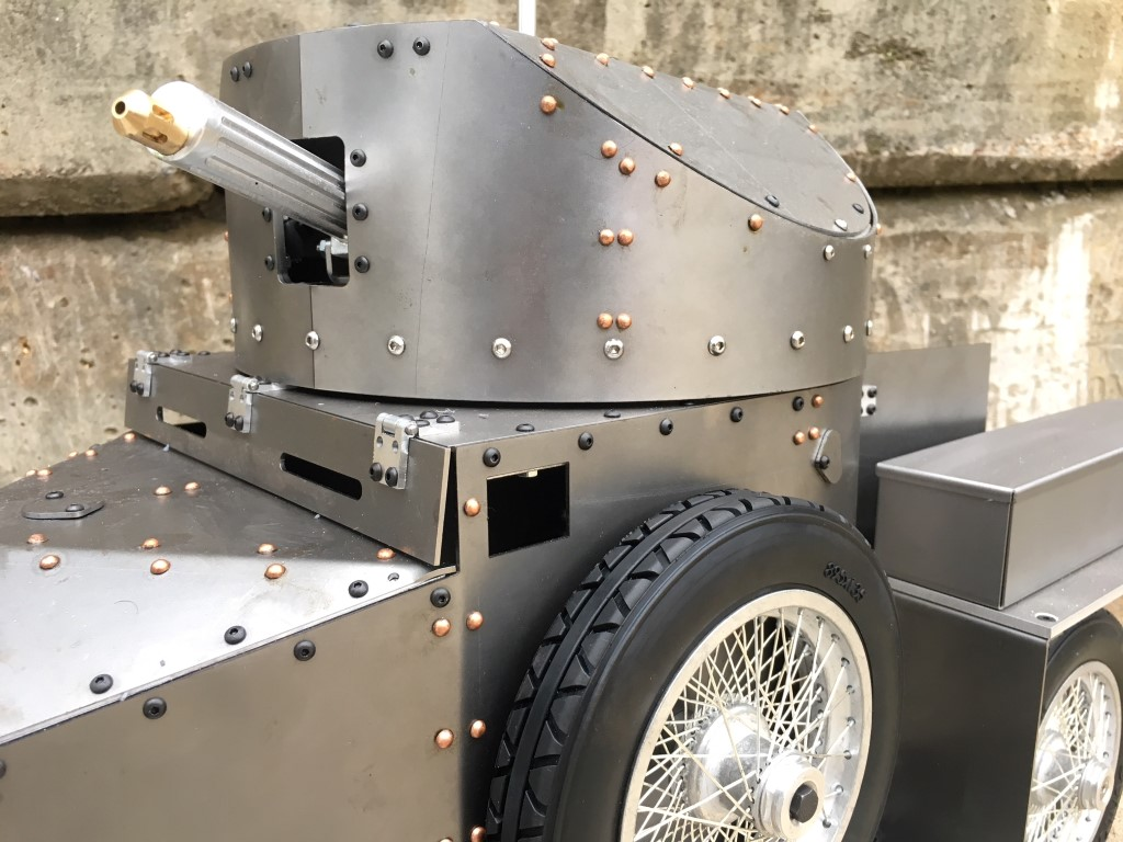 Armortek's 1:6 scale Rolls Royce Armoured Car
