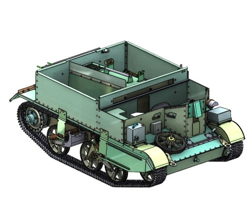 ARMORTEK 1:6 SCALE UNIVERSAL CARRIER