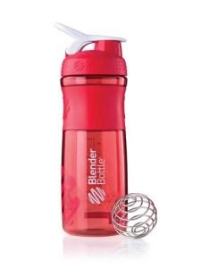 blender bottle sportmixer 28 oz sportmixer red shaker bottle