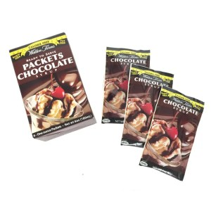 Walden Farms Calorie Free Syrups Single Serve Packet Chocolate Syrup