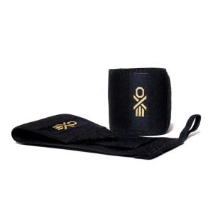 Cotton Wrist Wraps (Black) by ExoSleeve ArmourUP Asia Singapore