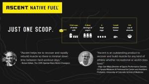 Ascent Protein Native Fuel Micellar Casein Graphic ArmourUP Asia Singapore
