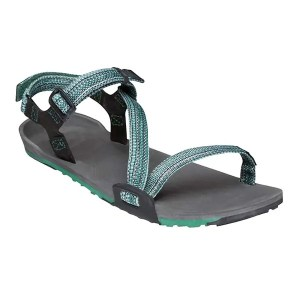 Xero Shoes Women's Z-Trail Sports Sandals Charcoal Multi-Green ArmourUP Asia Singapore