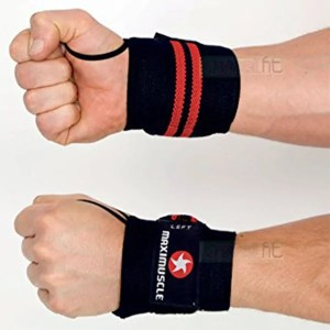 MaxiMuscle Wrist Wraps ArmourUP Asia Singapore
