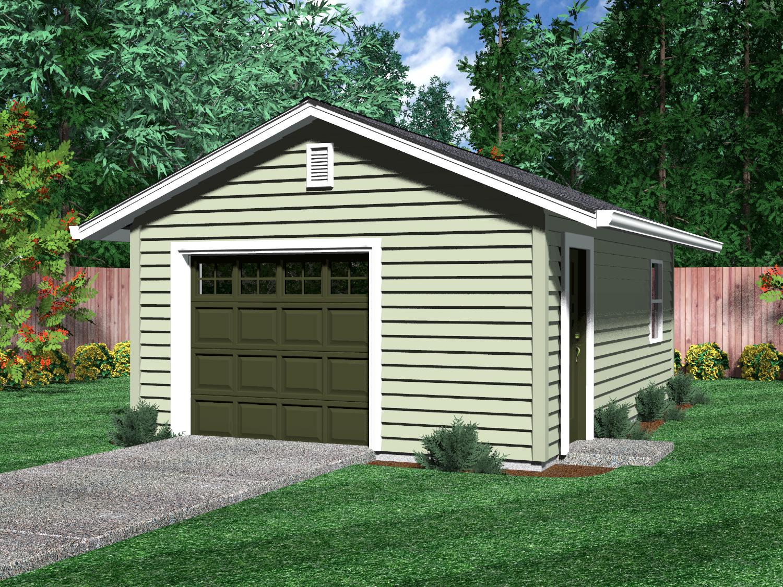 Detached 2 Car Garage Plans Bonus Room