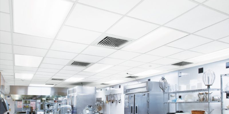 cleanable disinfectable ceiling tiles