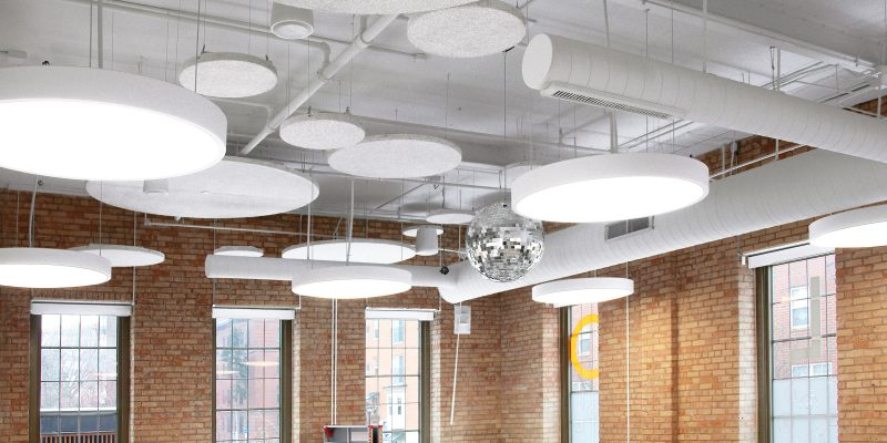 Tectum Clouds Ceiling Panels Armstrong Ceiling Solutions
