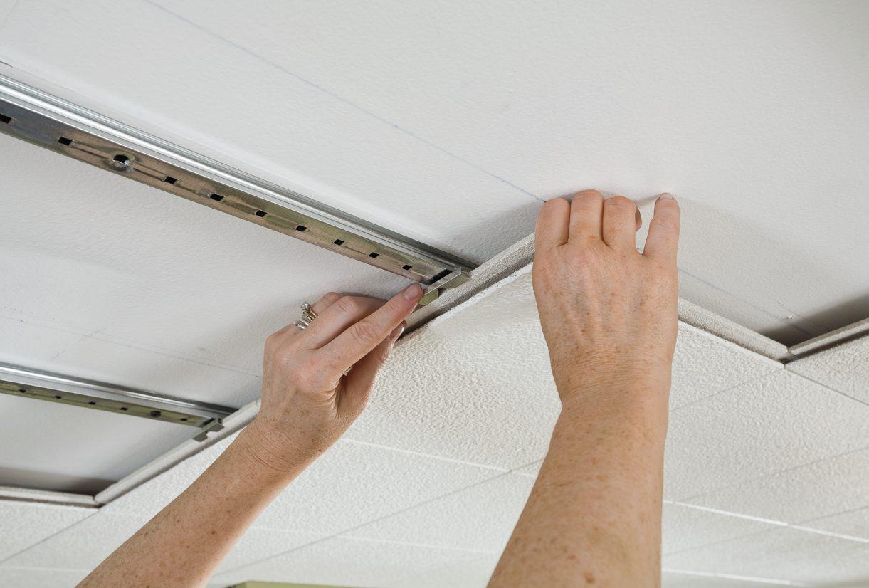 ceiling tile installation ceilings