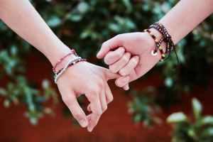 Friendship   holding hands