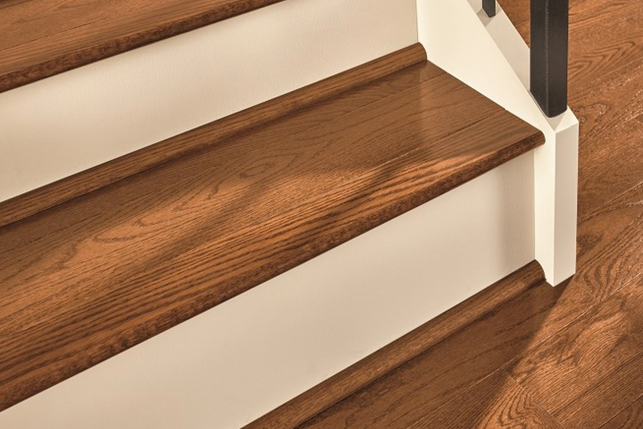 Flooring Trim and Molding hardwood flooring trim on a staircase   SAKP59L401