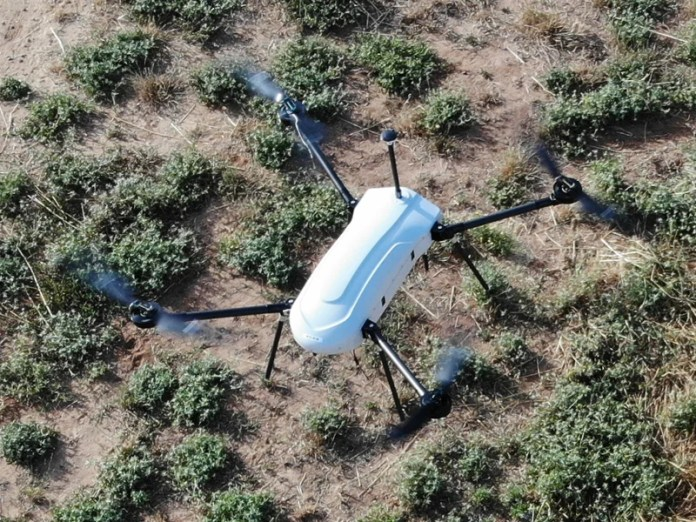 THOR multi-rotor mini unmanned aircraft system is offered by Elbit Systems. Image courtesy of Elbit Systems Ltd.