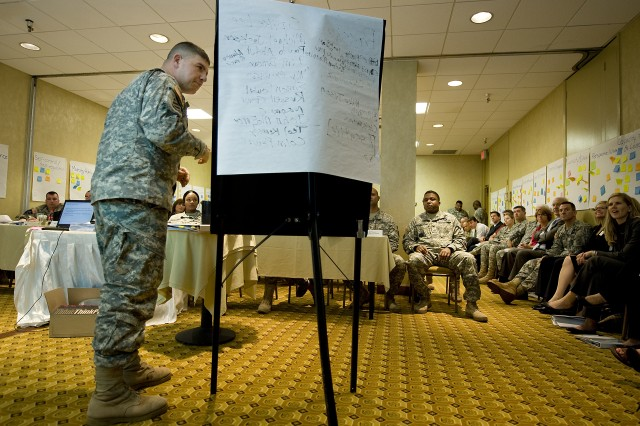 Soldiers learn to impart mental toughness on others
