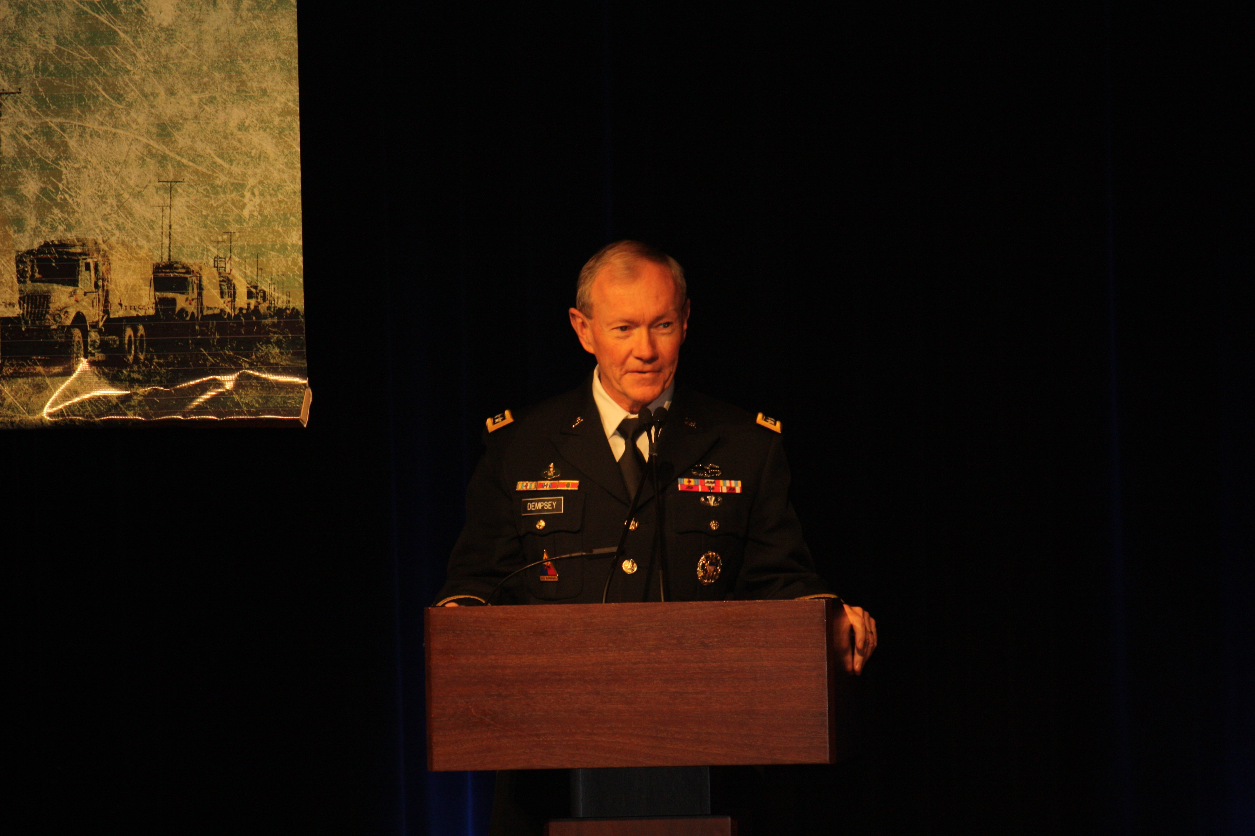 Cjcs Discusses Importance Of Energy In Today S Military