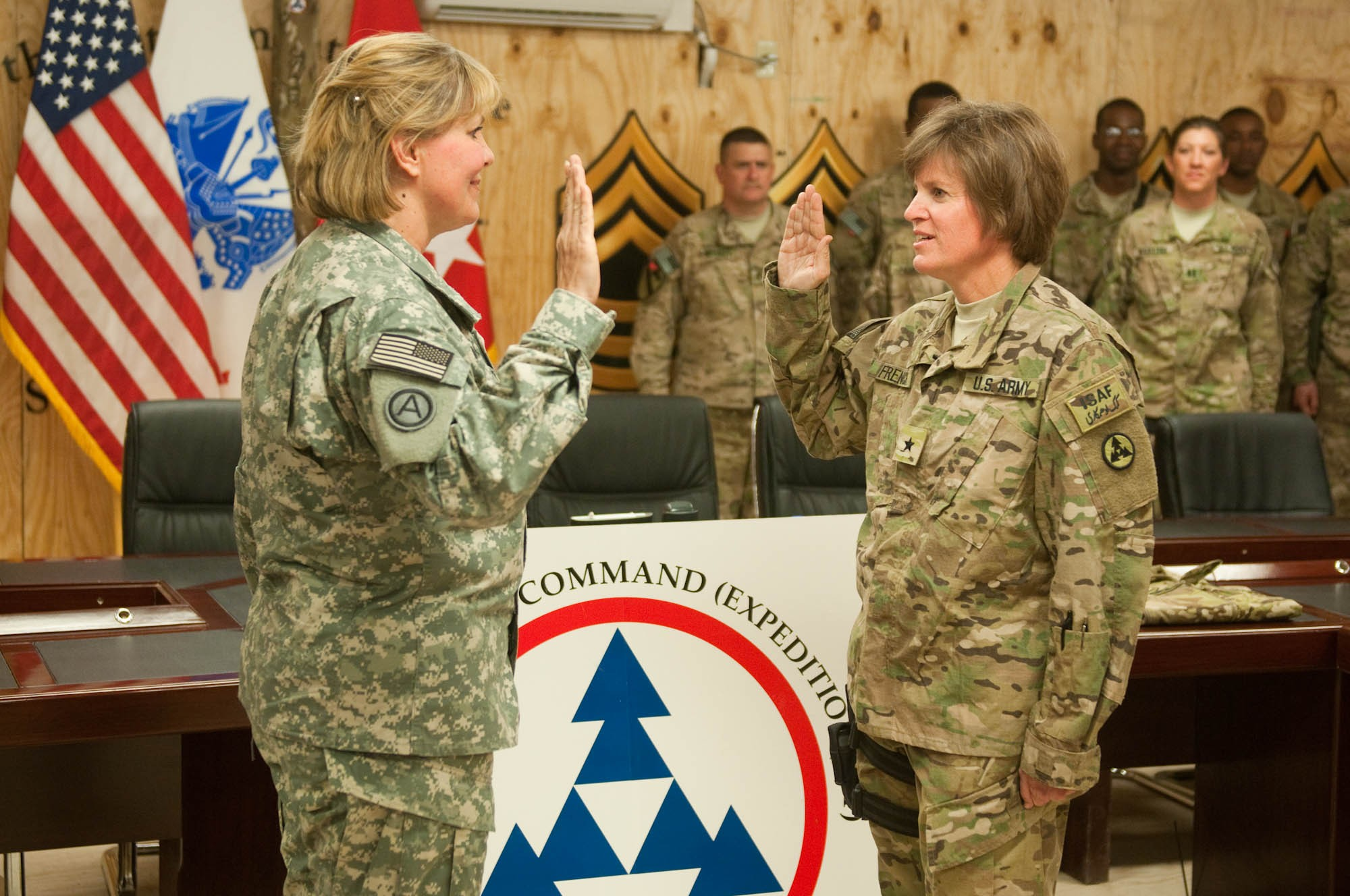 3d Esc Commander Promoted To Briga R General