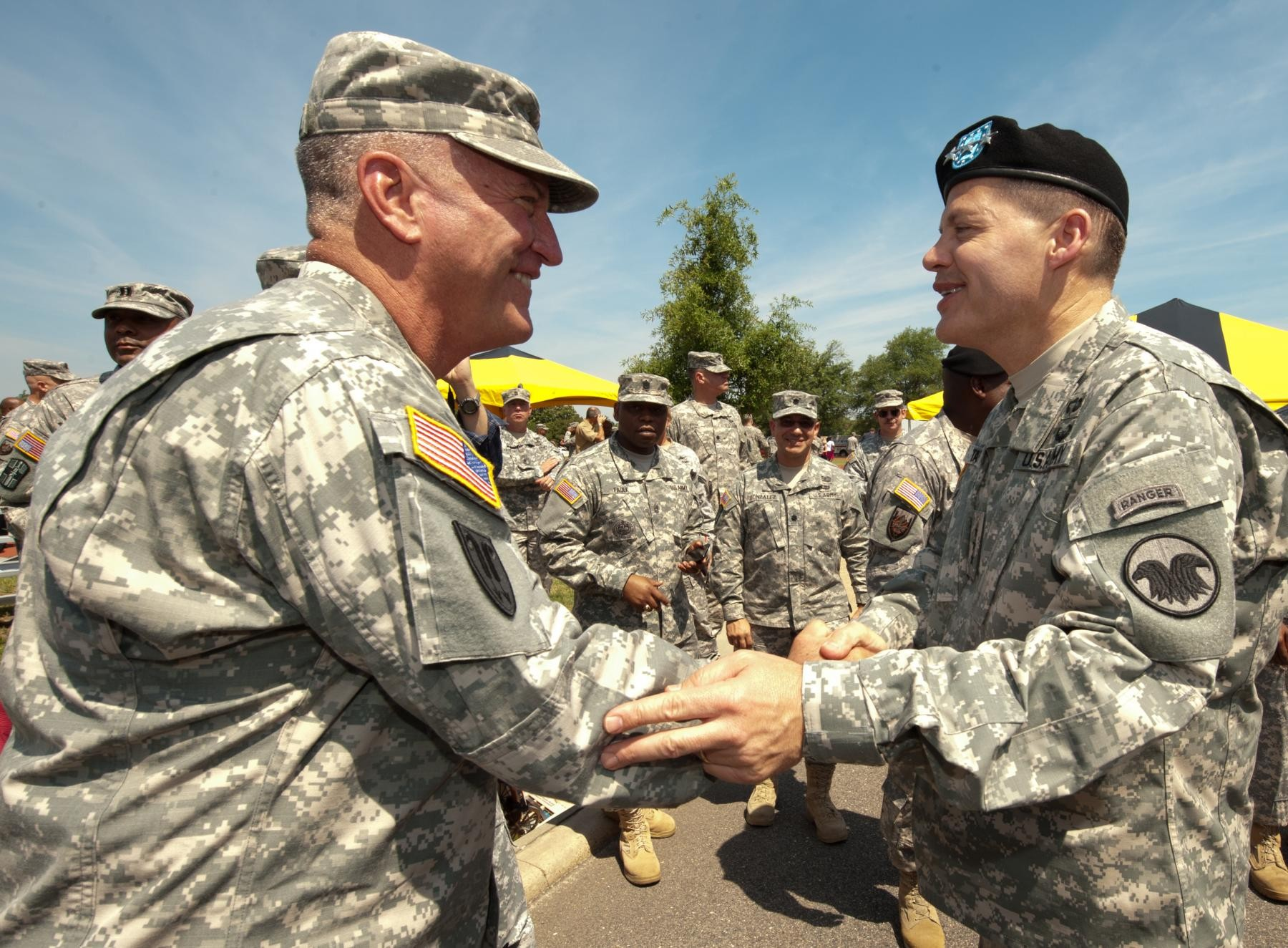 Talley Takes Command Of Army Reserve