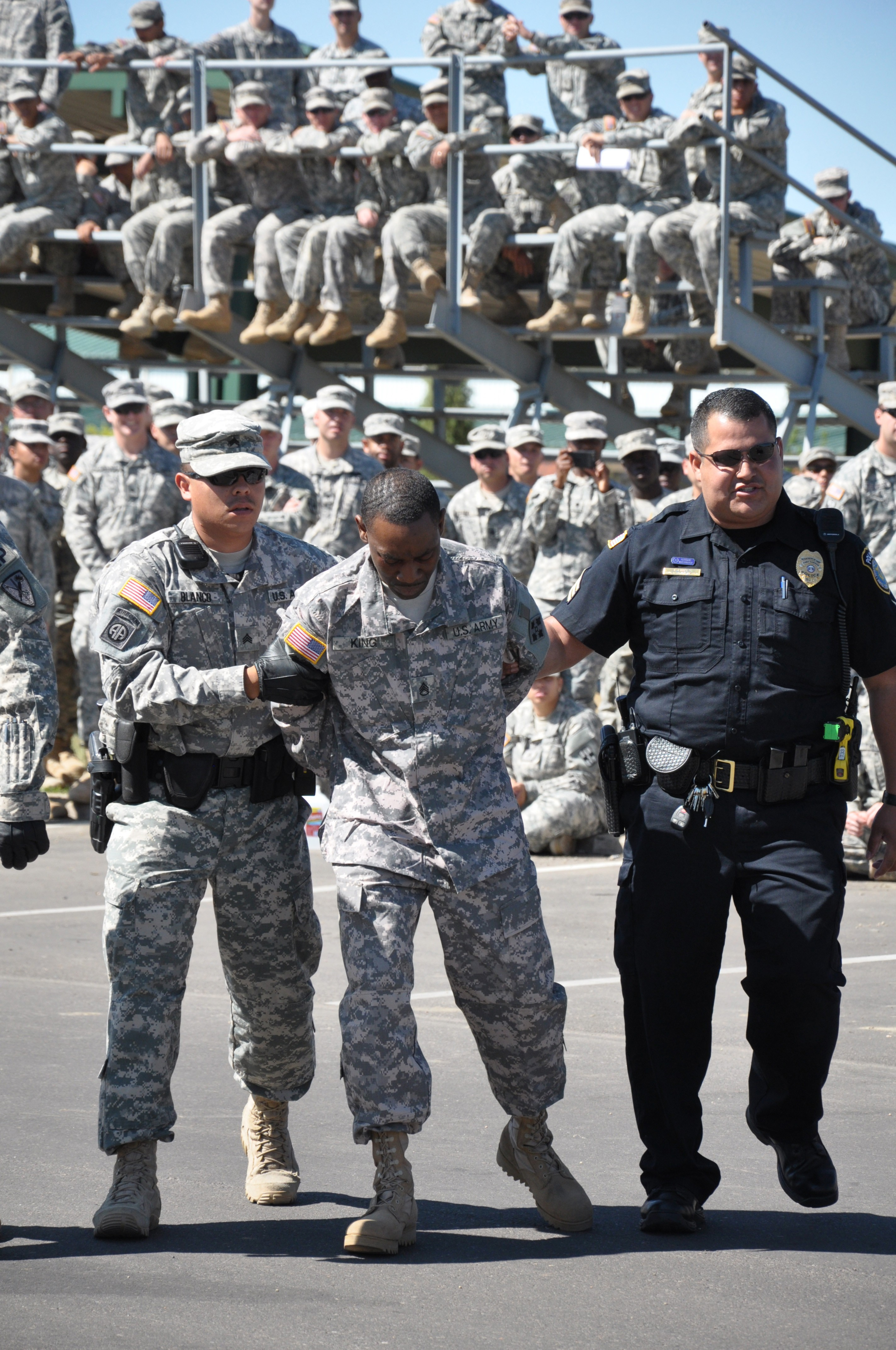 Fort Carson Military Civilian Police Named Best In Nation