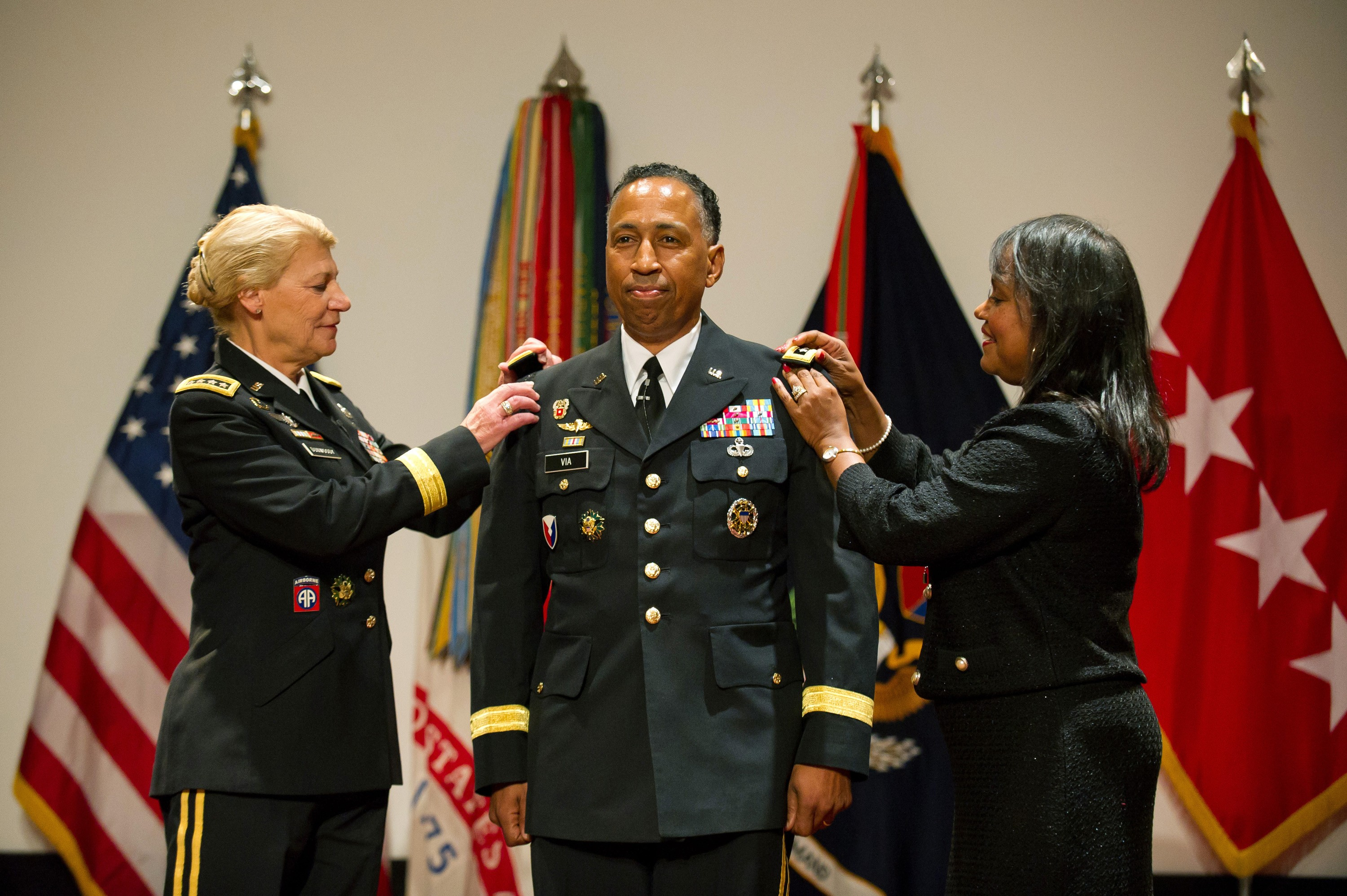 Gen Dennis Via Promotion Ceremony
