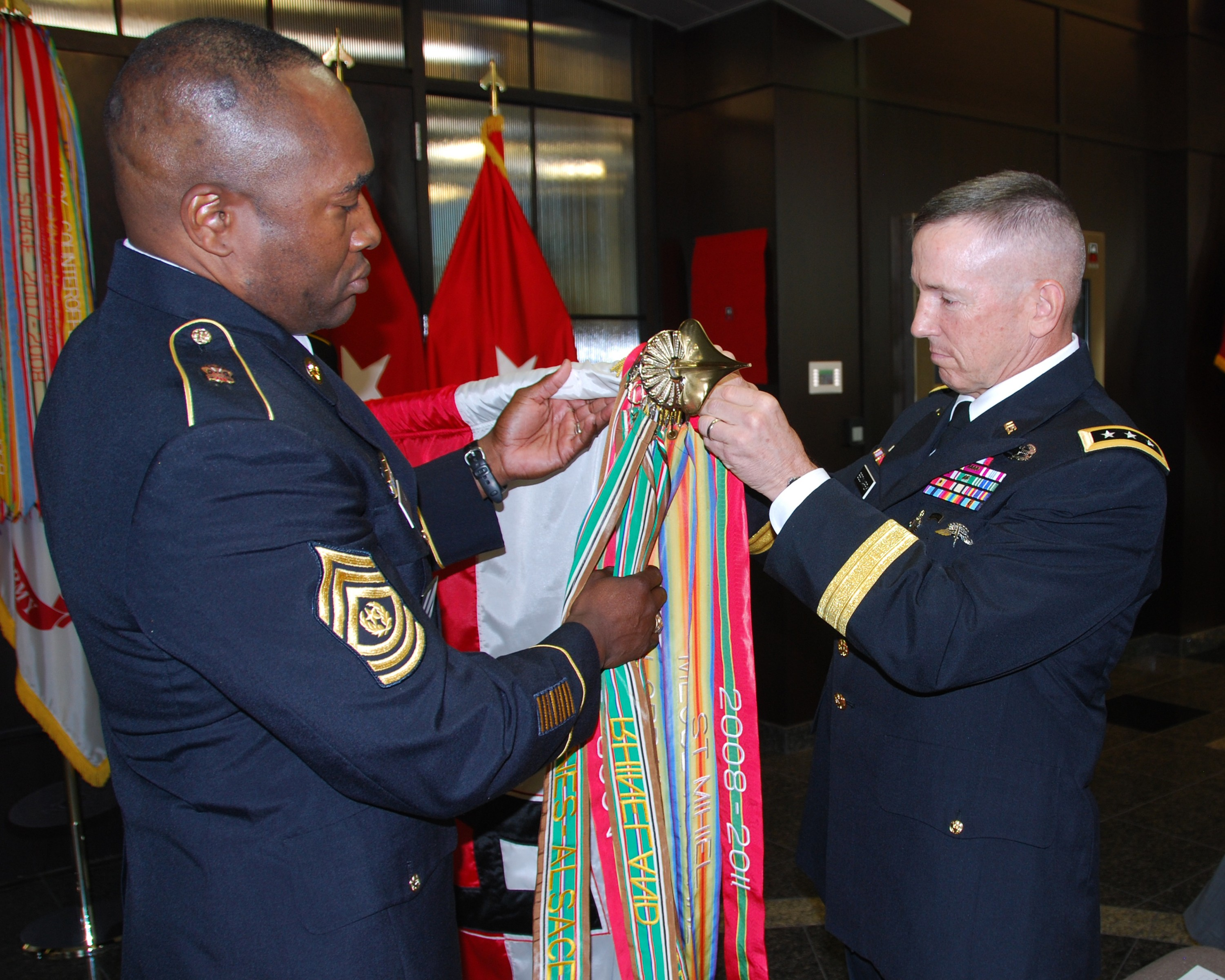 First Army Receives Superior Unit Award
