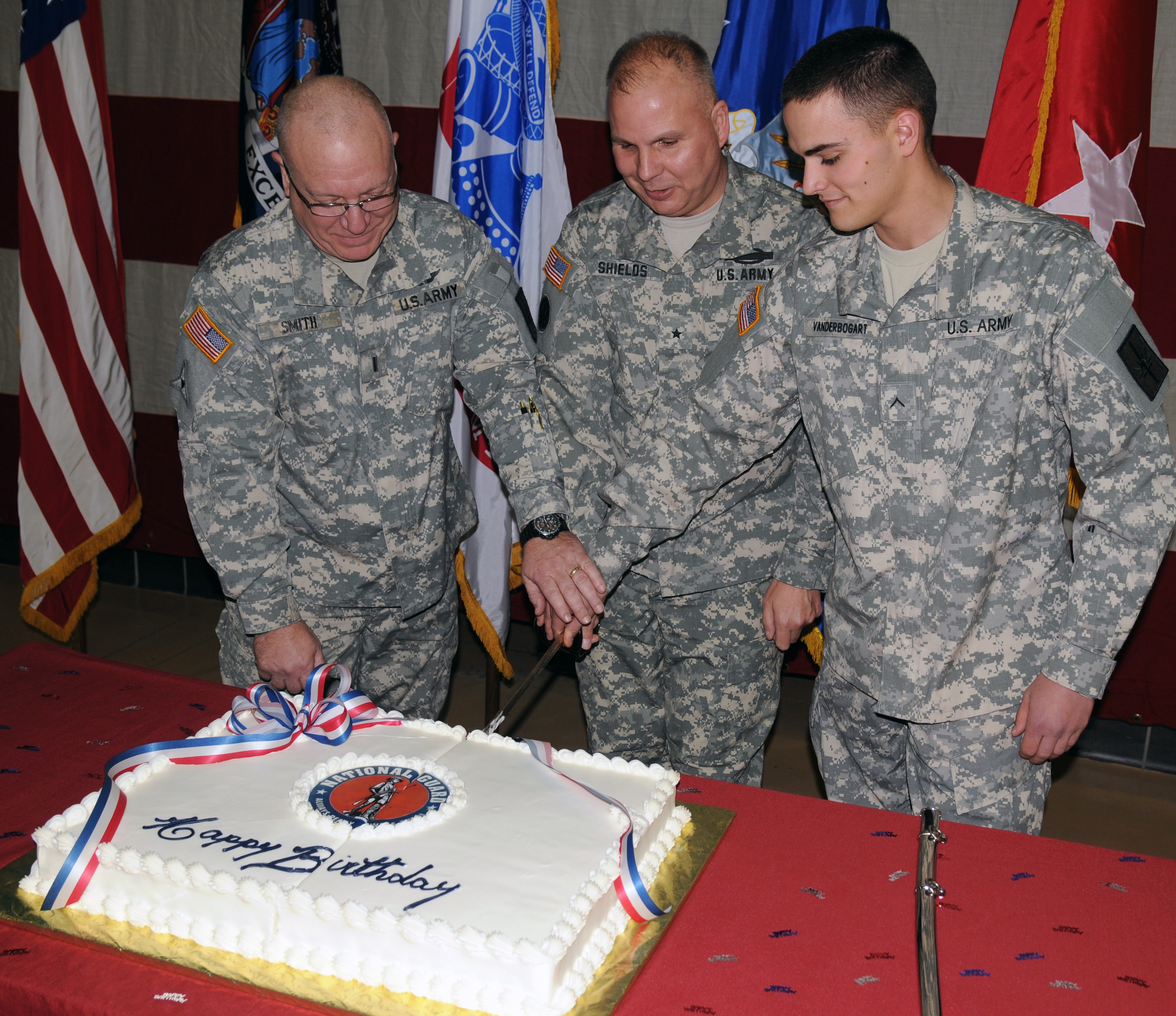 New York National Guard Celebrates National Guard S 376th