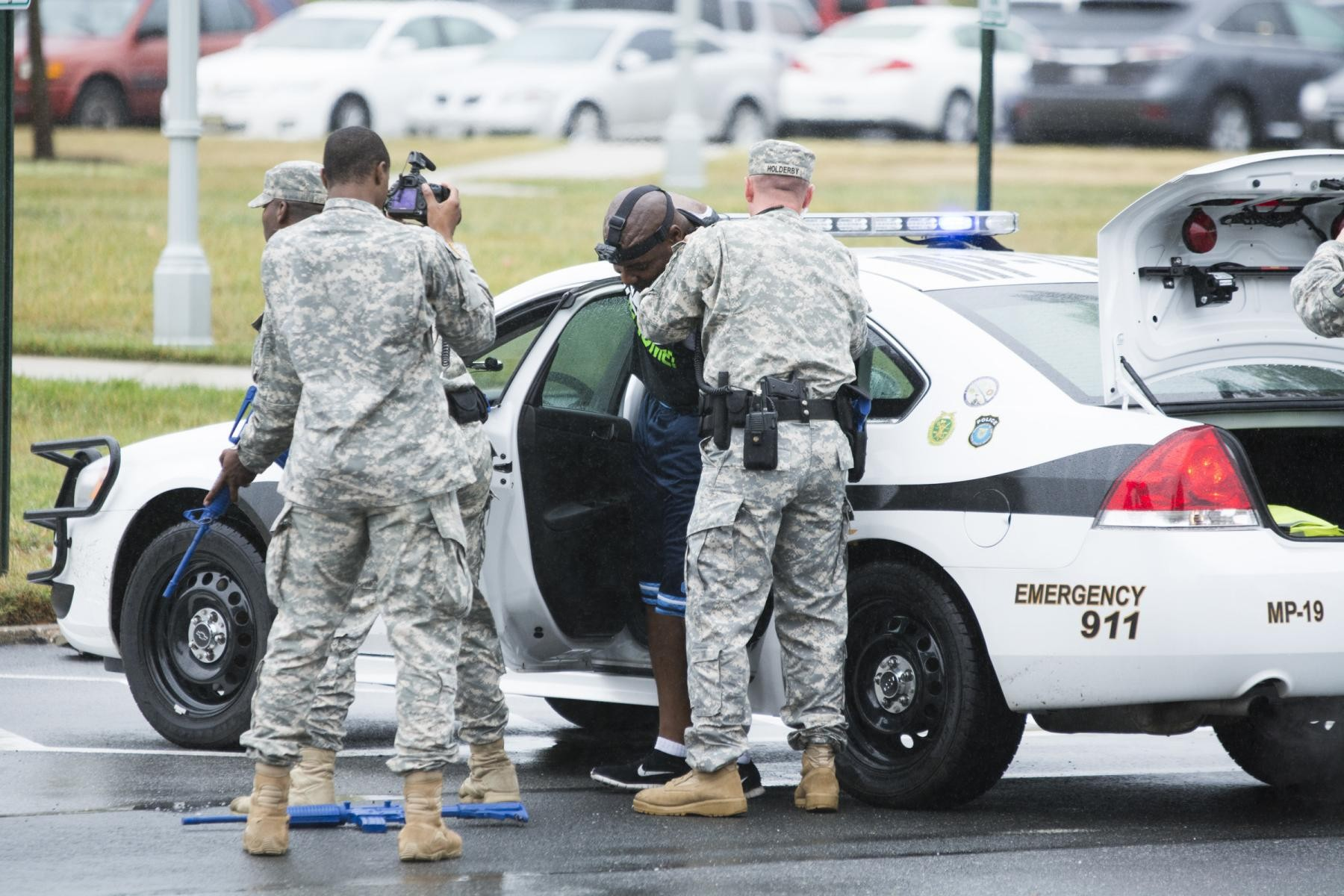 Active Shooter Exercise At Mcnair Tests Joint Base