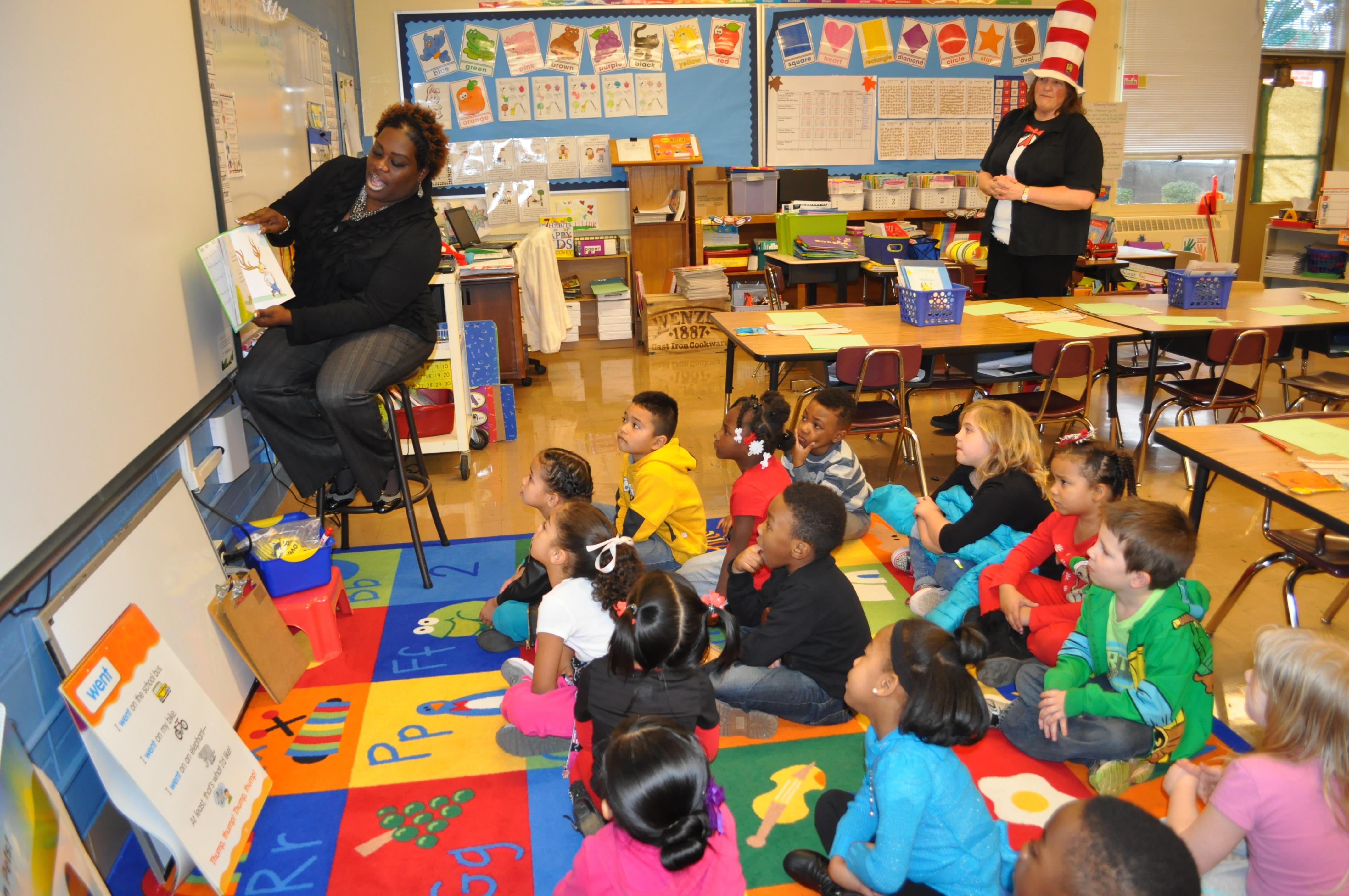 Read Across America Brings Smiles To Local Children