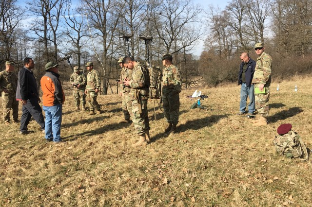 Soldiers with the 2d Cavalry Regiment train on the VMAX and VROD Dismounted Electronic Support/ Attack system at Grafenwoehr Training Area, Germany, March 13-17, 2017.