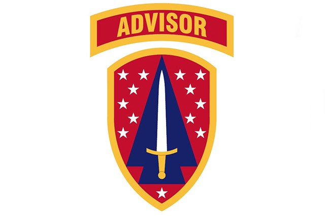 Security Force Assistance Command shoulder sleeve insignia (Photo Credit: U.S. Army)