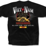 Vietnam Veteran All Gave Some Some Gave All Tee