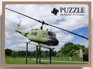 UH 1 Iroquois Huey Helicopter Puzzle