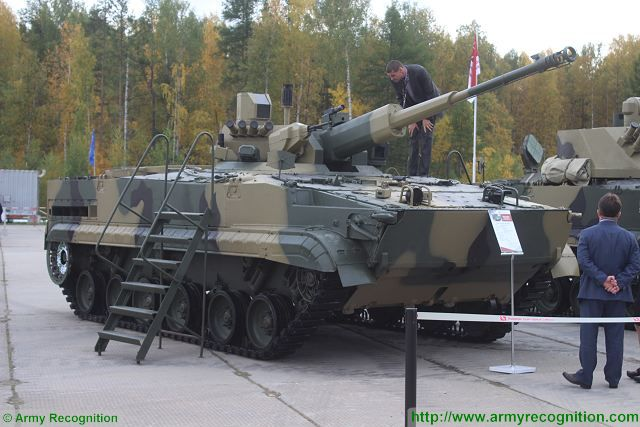 Russian Military Photos and Videos #4 - Page 2 BMP-3_gun_mount_AU-220M_with_57mm_cannon_RAE_Russia_Arms_Expo_2015_Nizhny_Tagil_640_001