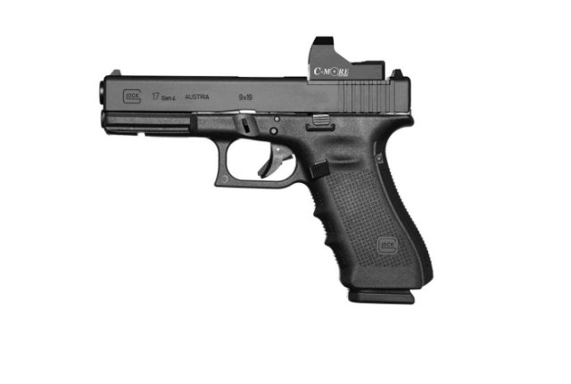 Glock highlights its G43 and Gen4 in MOS configuration pistols at Milipol 2015 640 001