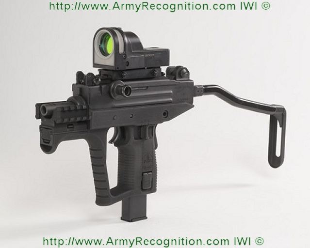 The New Uzi Pro Smg Sub Machine Gun From Iwi Israel Weapon