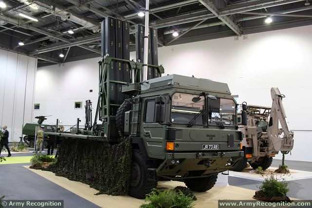 CAMM Common Anti-Air Modular Missile air defense system data sheet specifications information description intelligence identification pictures photos images United Kingdom British army defence industry military technology