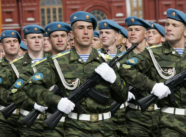 Upgraded AK 74M assault rifle to be shown for the first time during Russia s Victory Day Parade 640 001