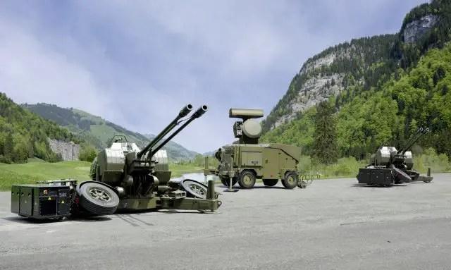 Rheinmetall will supply the Royal Thai Army with four latest generation Skyguard systems 640 001