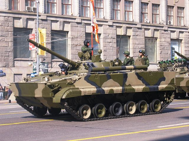 Russian IFV are also highly demanded by potential foreign customers. During the RAE-2015 show, the Arabic states revealed their interest to the latest modification of world-known BMP-3, namely, BMP-3 Derivatsiya (Derivation).