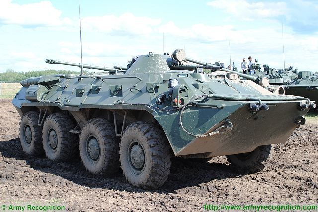 About 318 basic BTR-80 were supplied to Bangladesh.