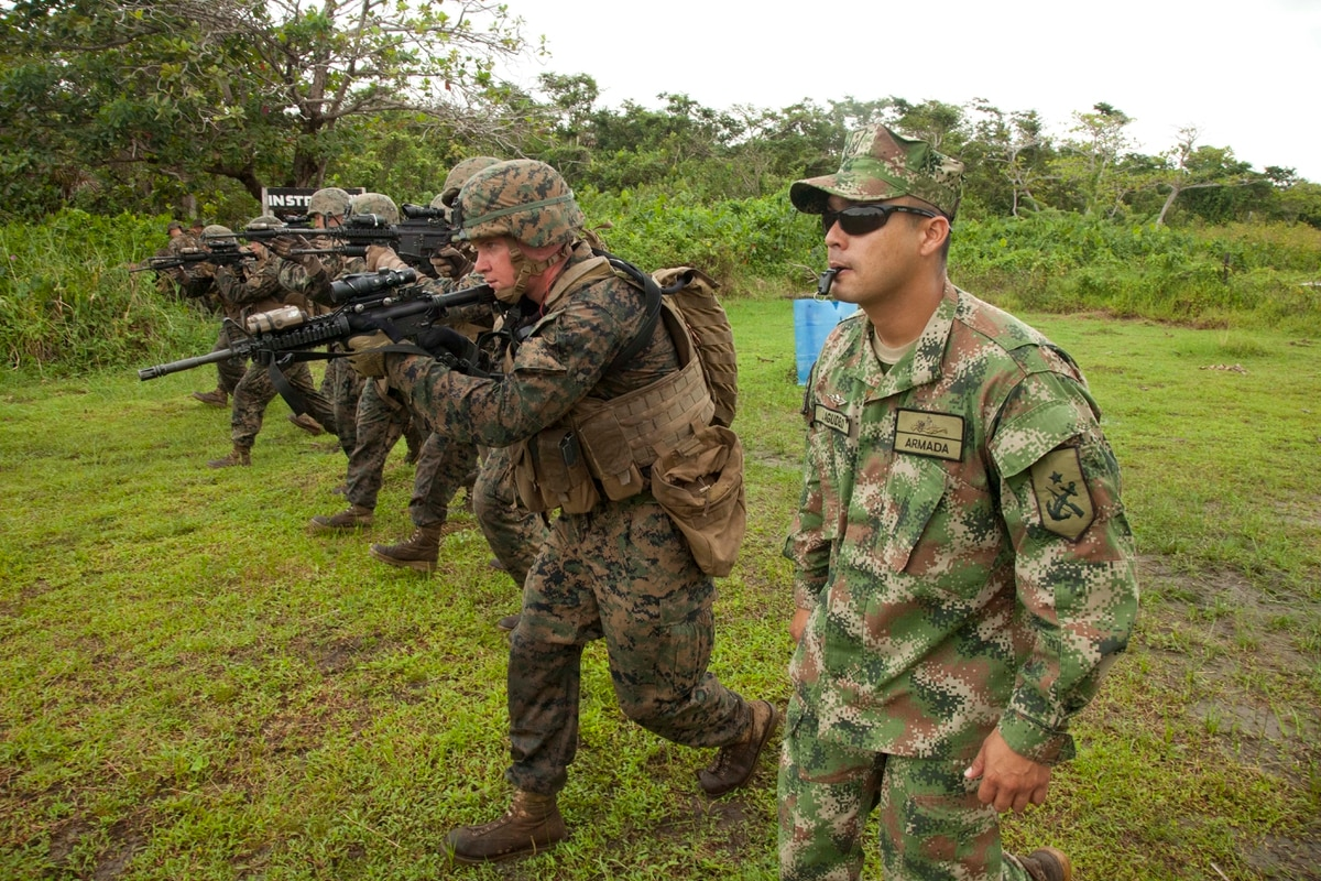 Colombian Marines Spread Usmc Doctrine